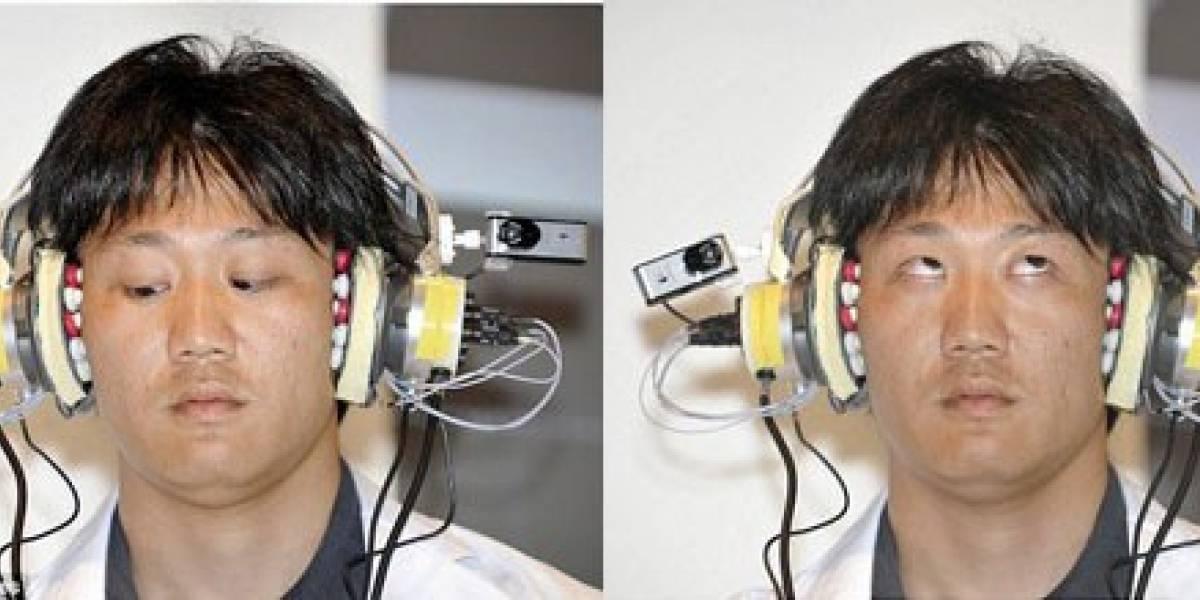 Audífonos NTT DoCoMo con interfaz de control musical a través de los ojos