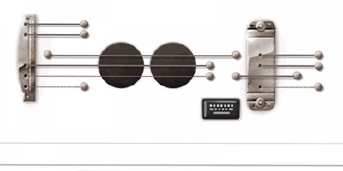 Google homenajea a Les Paul con un Doodle musical