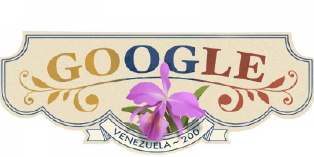 Google también celebra el bicentenario de la Independencia de Venezuela