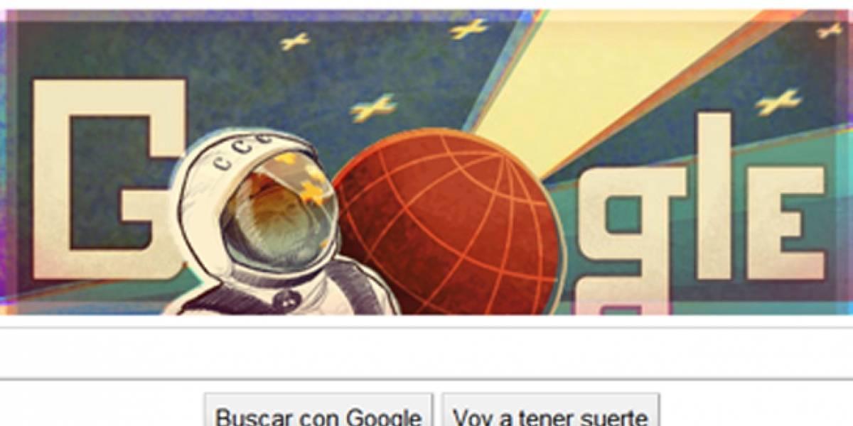 Google celebra el viaje del hombre al espacio