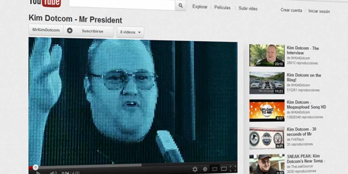 Dotcom ahora le canta 'Mr.President' a Obama