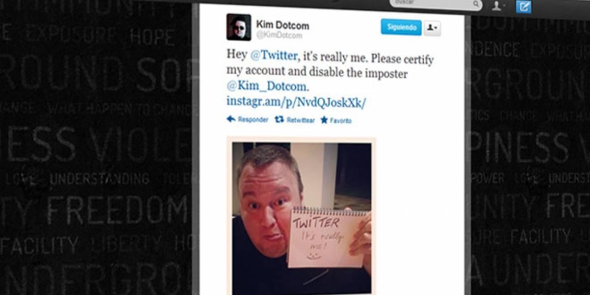 Twitter no quiere verificar la cuenta de Dotcom