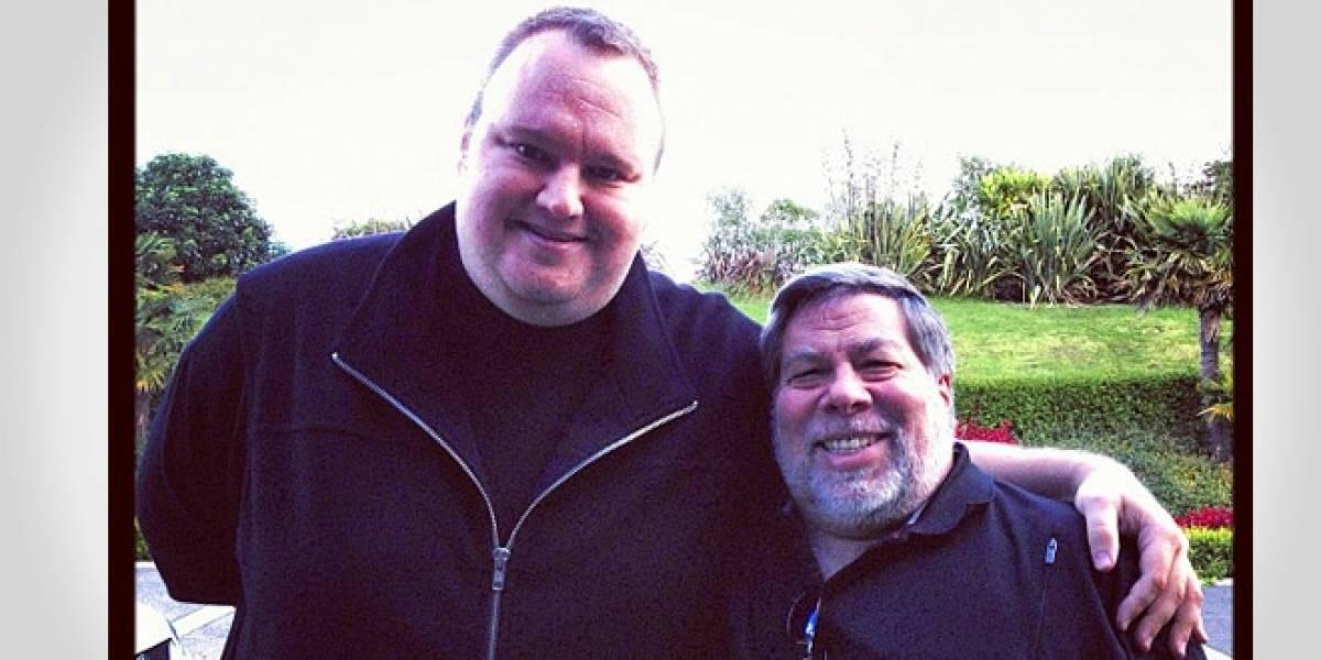 Steve Wozniak se reunió con Kim Dotcom