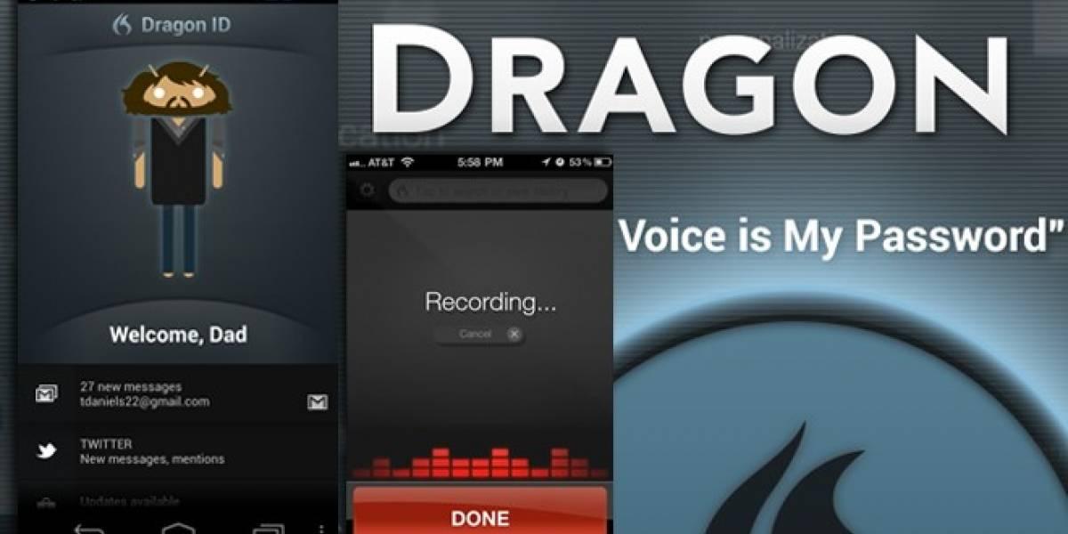 Dragon Id: Nuestra voz será la contraseña en el teléfono inteligente