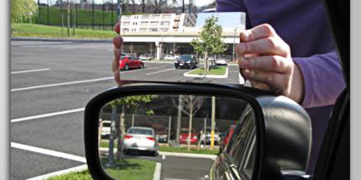 Matemático diseña un retrovisor que acaba con el 'ángulo muerto' al conducir