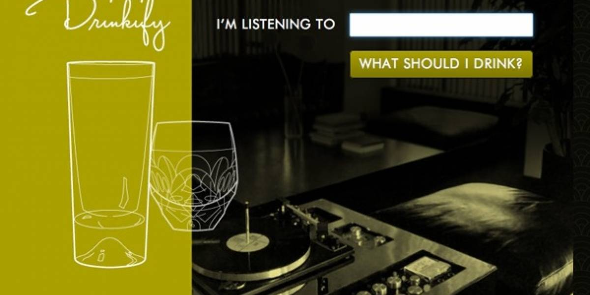 Drinkify te dice que beber según la música que estás escuchando