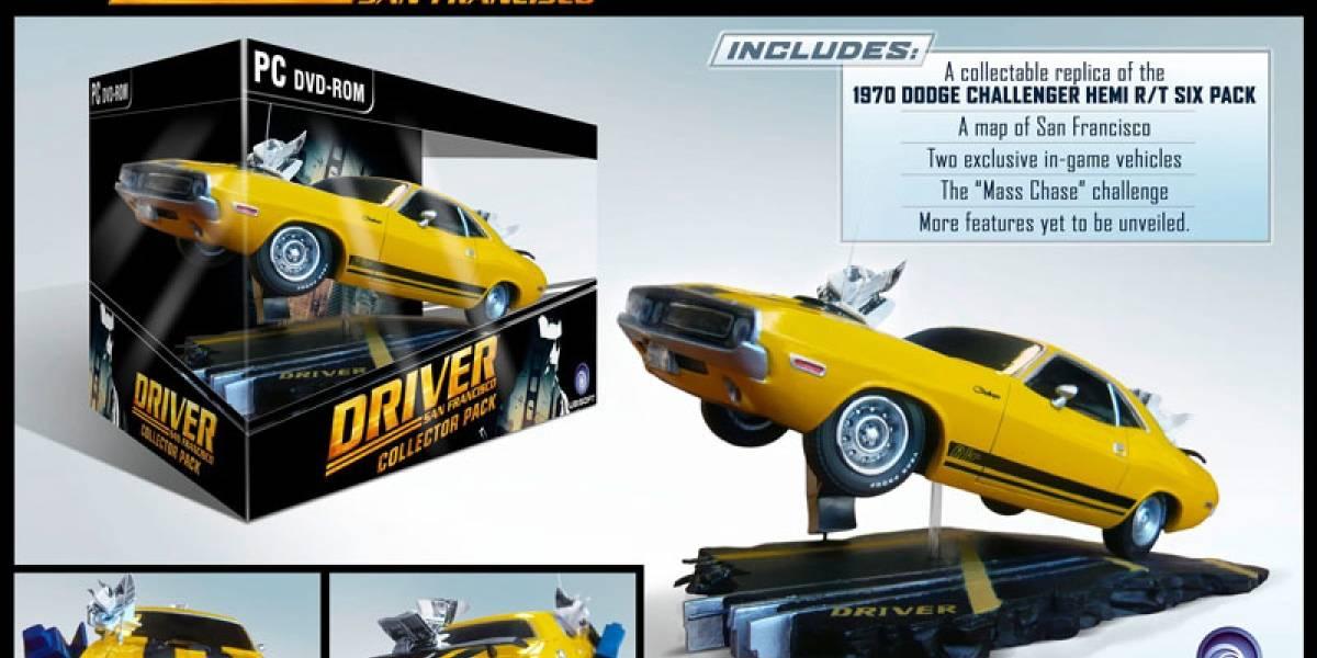 Esto es lo que incluirá la edición especial de Driver: San Francisco