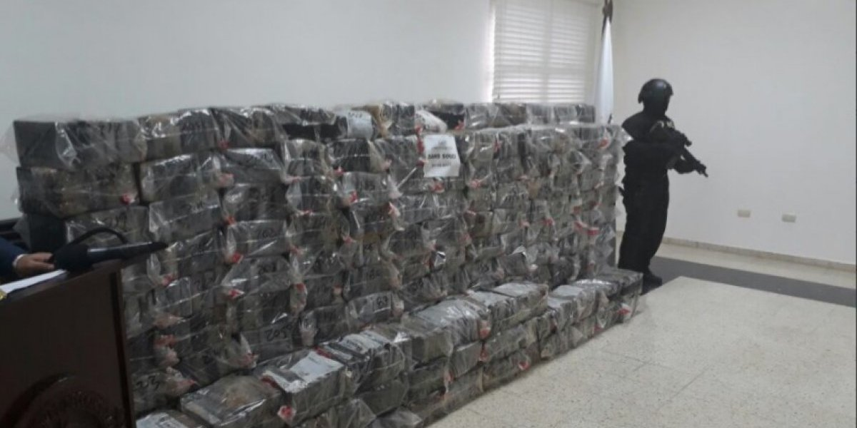 Decomisan 46 kilos de cocaína en La Romana