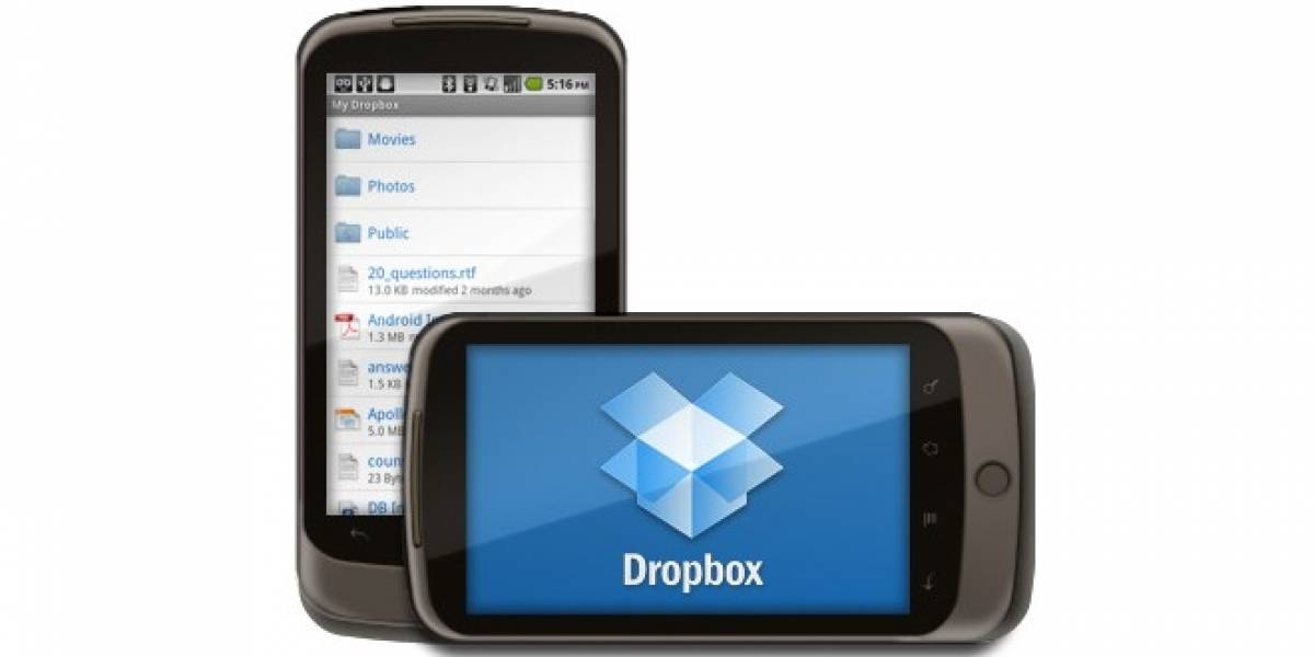 Dropbox de Android ya permite streaming de videos