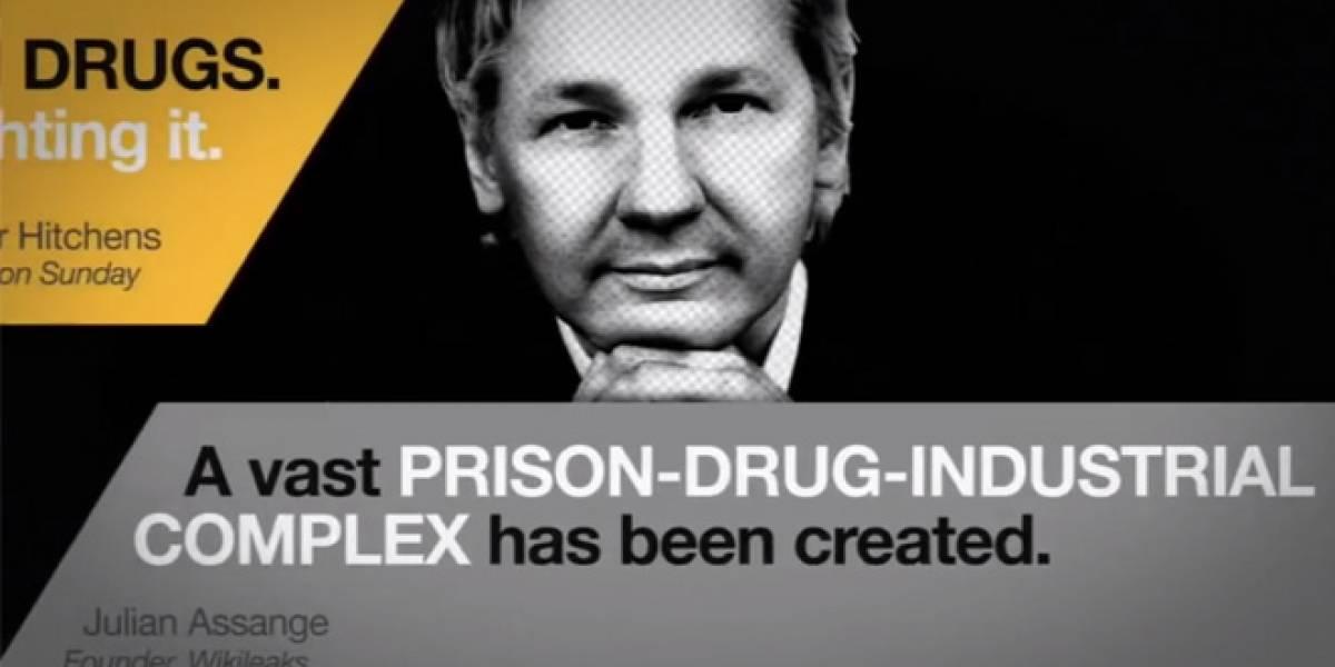Google+ lanza serie de debates, primer round: Vicente Fox y Julian Assange
