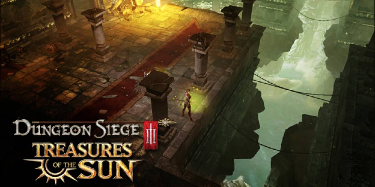 Nuevo DLC de Dungeon Siege III: Treasures of the Sun