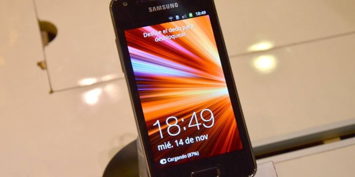 Samsung Galaxy S Advance A Primera Vista