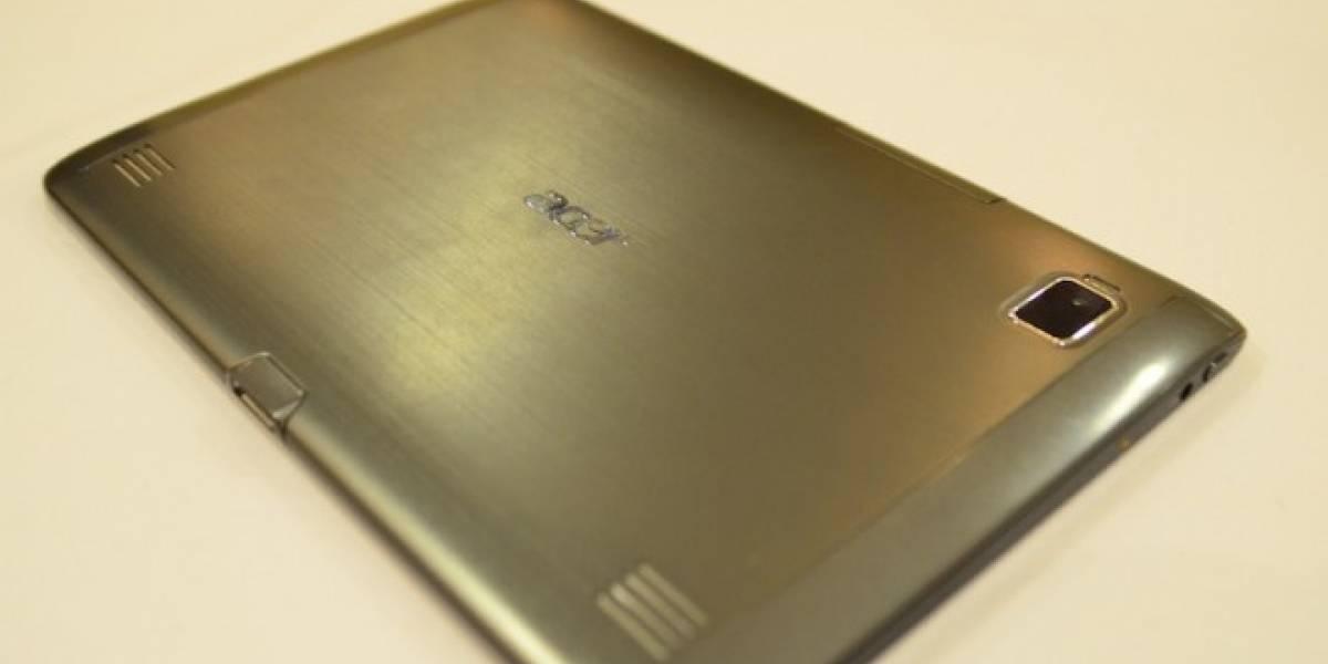 Acer confirma la actualización de Iconia A500 a Ice Cream Sandwich en Abril