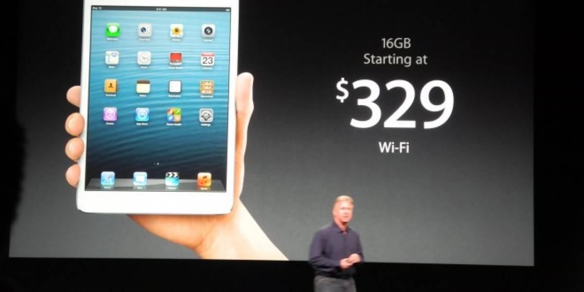Phil Schiller asegura que cobrar USD $329 por el iPad Mini entusiasmará a muchos