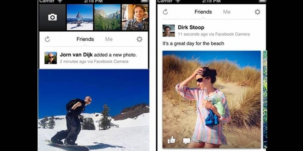 Llega Facebook Cámara para iOS