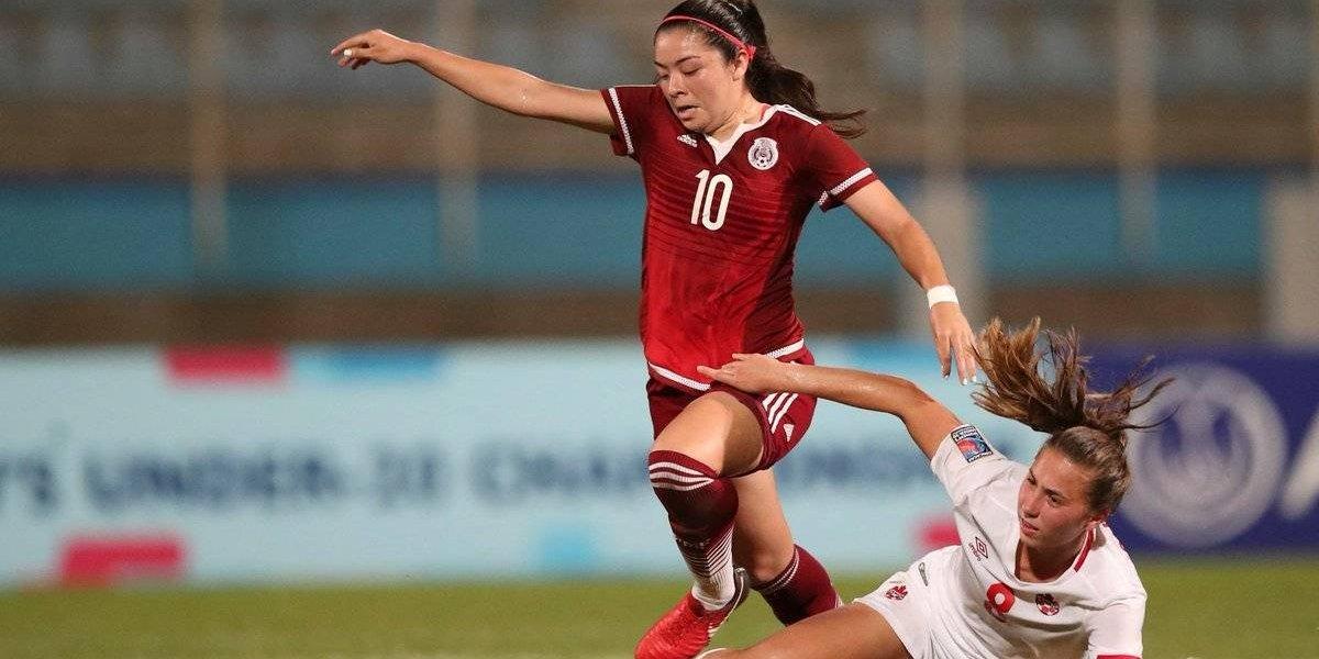 Tri femenil Sub 20 derrota en penales a Canadá y califica al mundial