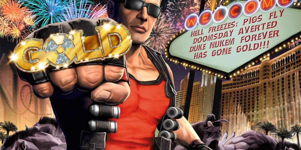 ¡Paren las prensas! El desarrollo de Duke Nukem Forever ha concluido