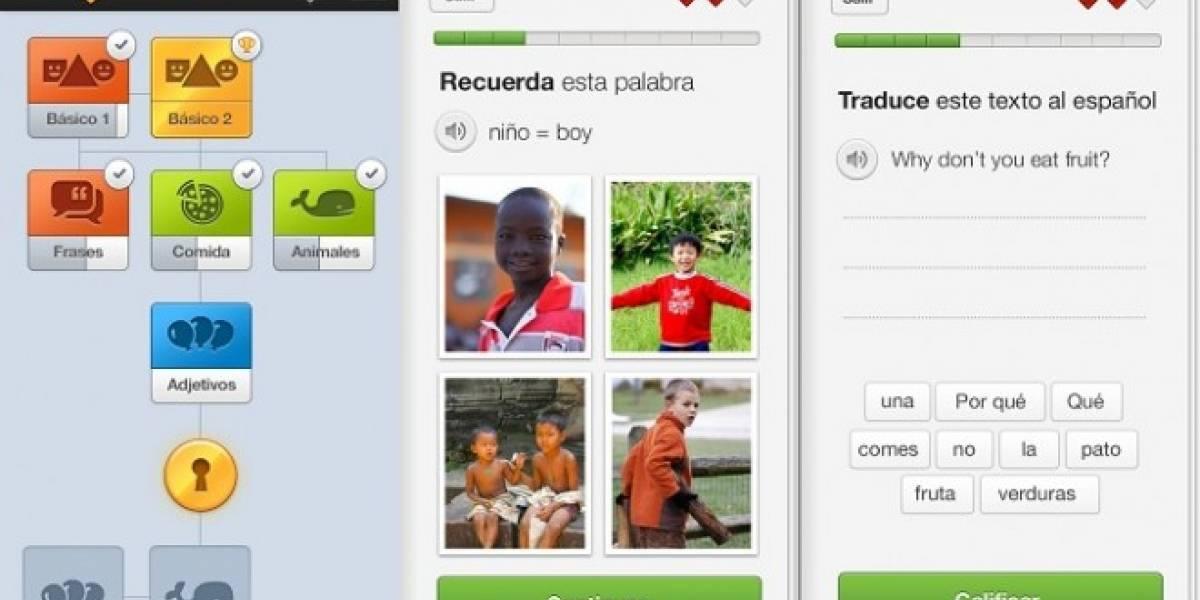 Duolingo: La plataforma para aprender idiomas, ahora disponible en iOS