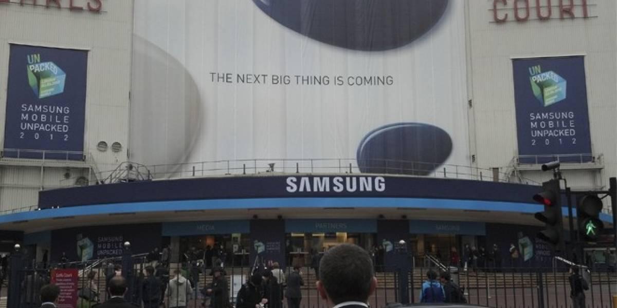 Cobertura en vivo del lanzamiento del Samsung Galaxy S III [W Live]