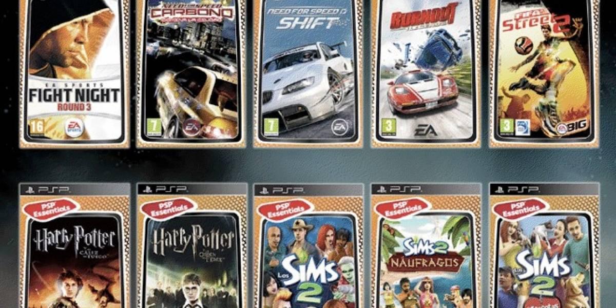 Vuelven los PSP Essentials de EA a España