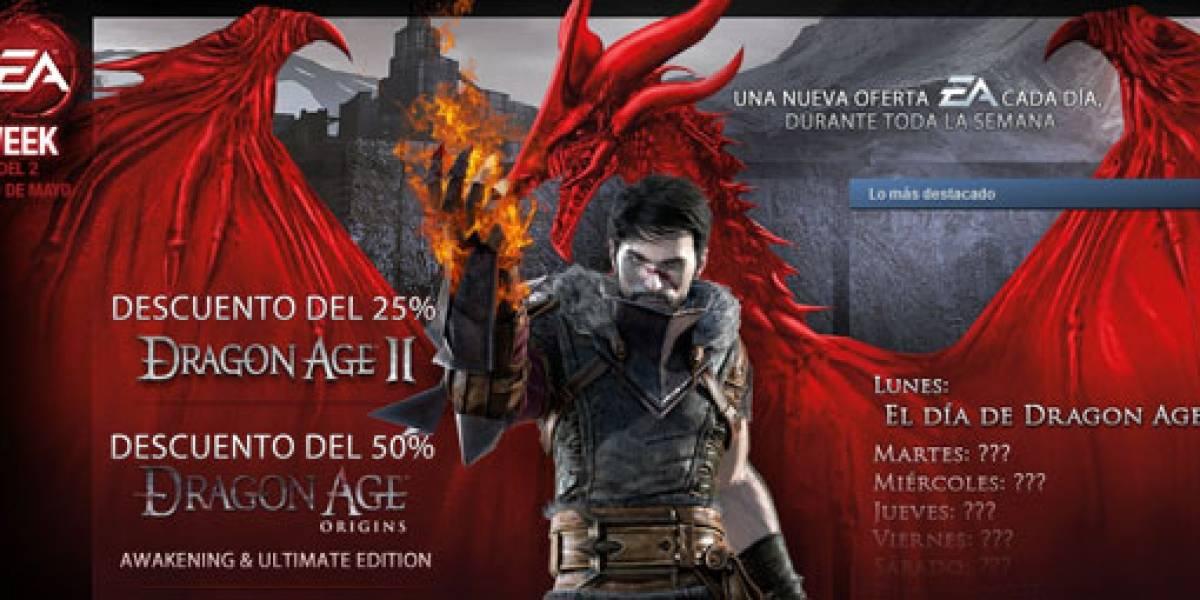Ofertón de Dragon Age en Steam