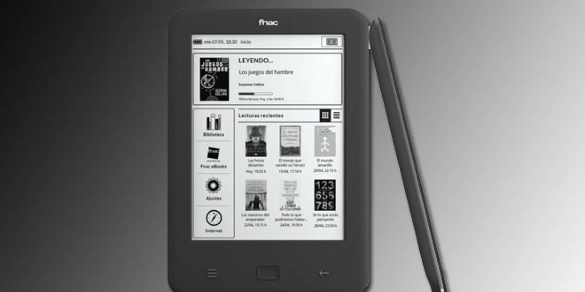 Fnac renueva su lector electrónico de libros