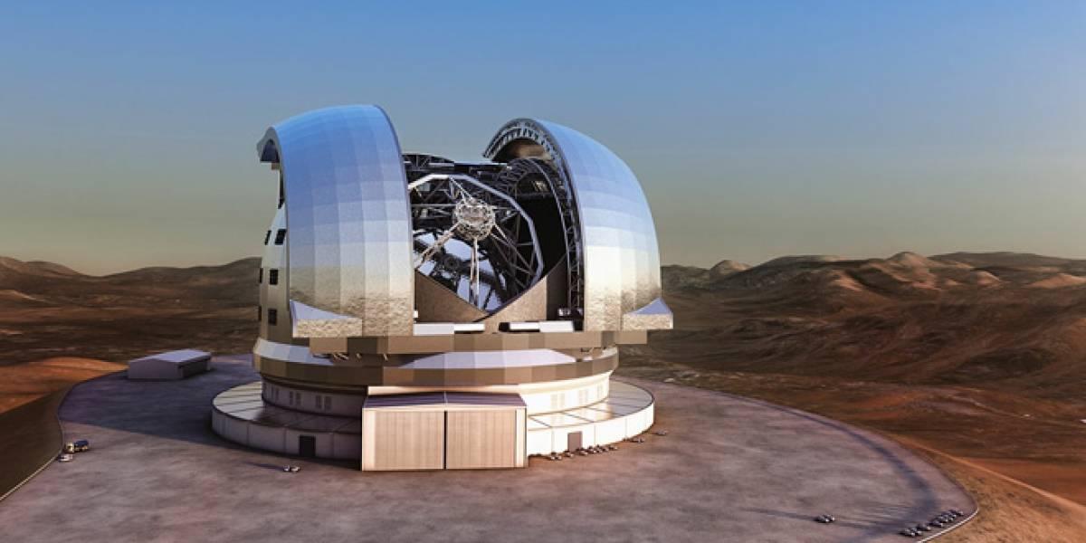 ESO logra acuerdo para construir el telescopio óptico más grande del mundo en Chile