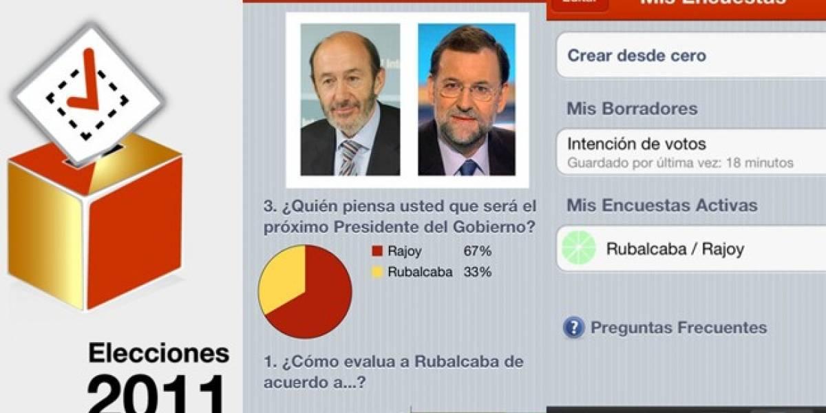 España: Sigue las elecciones del 20-N con esta aplicación para iOS
