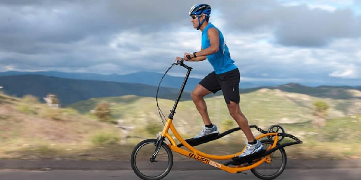 La bicicleta-elíptica ahora tiene cambios y es menos cara, pero sigues viéndote ridículo en ella