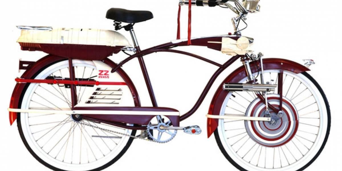 La bicicleta de Star Wars tiene un aire a la gran aventura de otro personaje...
