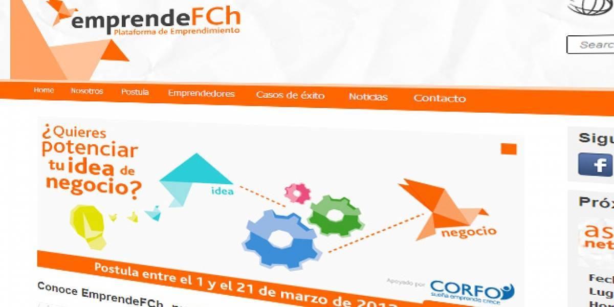 Chile: EmprendeFCh busca emprendedores para participar en su plataforma