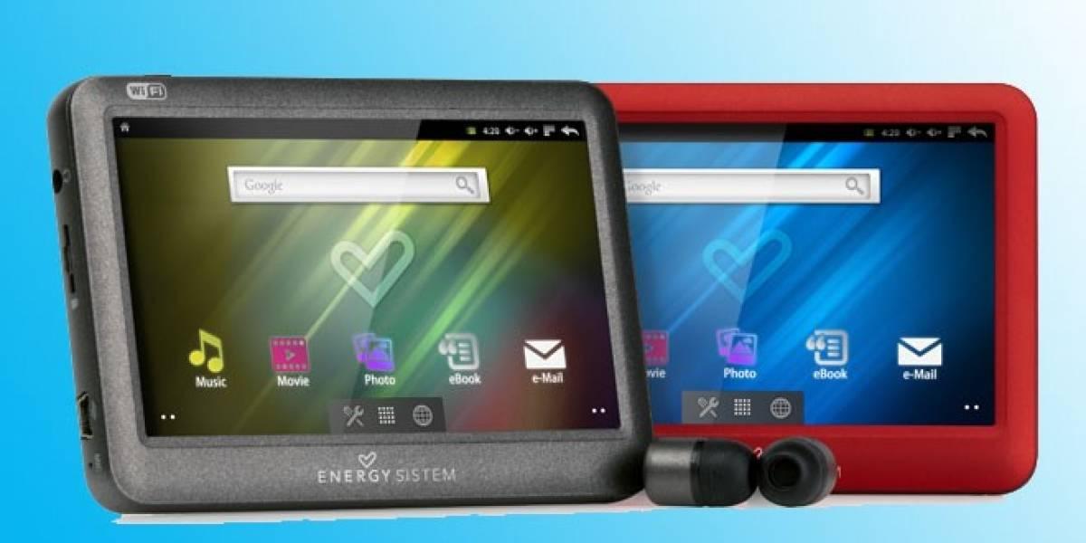 La española Energy Sistem lanza dos reproductores multimedia con Android