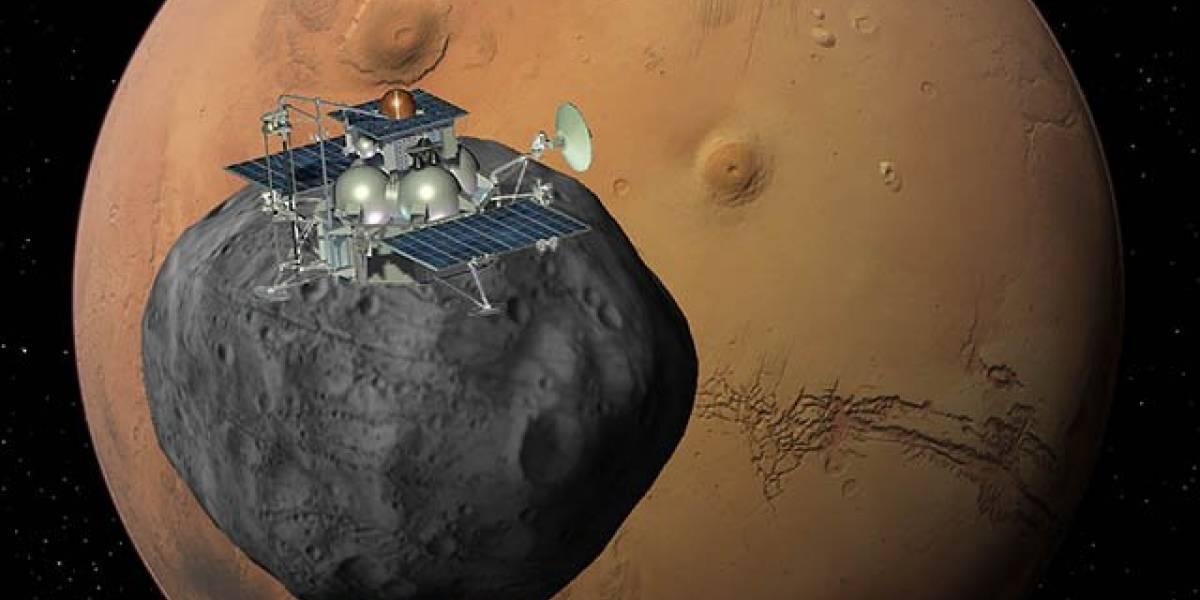 Agencia espacial europea da por perdida a la sonda rusa Fobos-Grunt