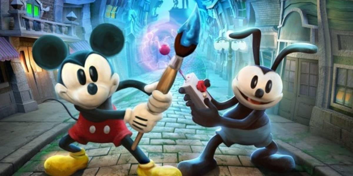 Epic Mickey también llegará a la Nintendo 3DS