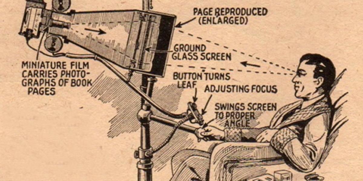 Este es el abuelo del iPad en 1935