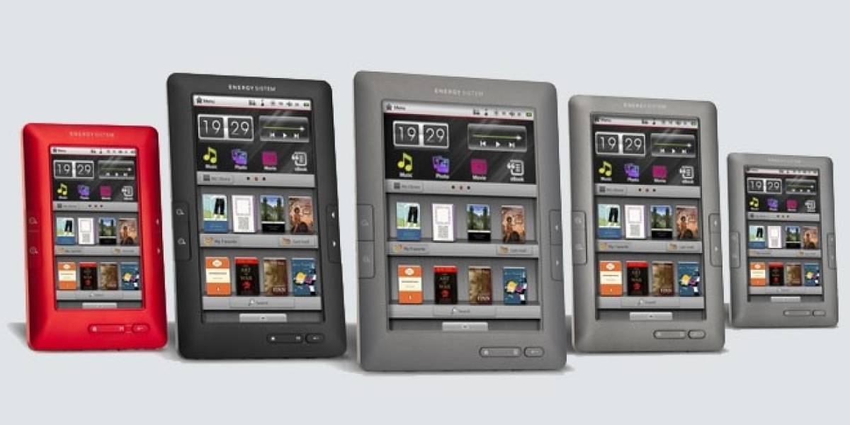 La española Energy Sistem presenta cinco nuevos modelos de eReaders a color