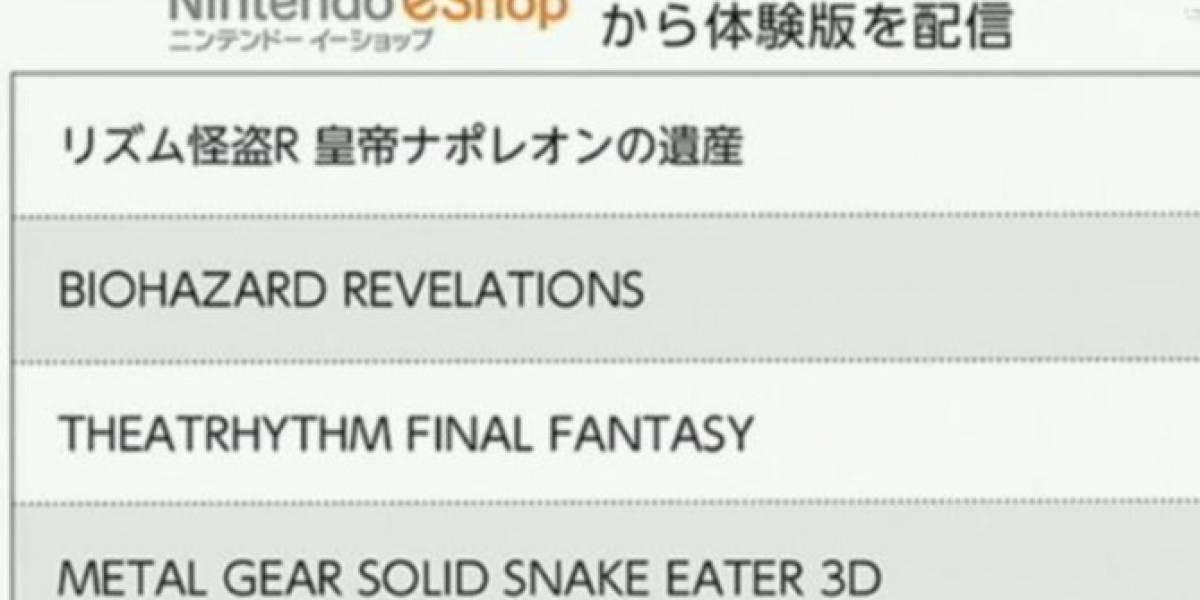 Nuevas demos disponibles para la Nintendo eShop Japón