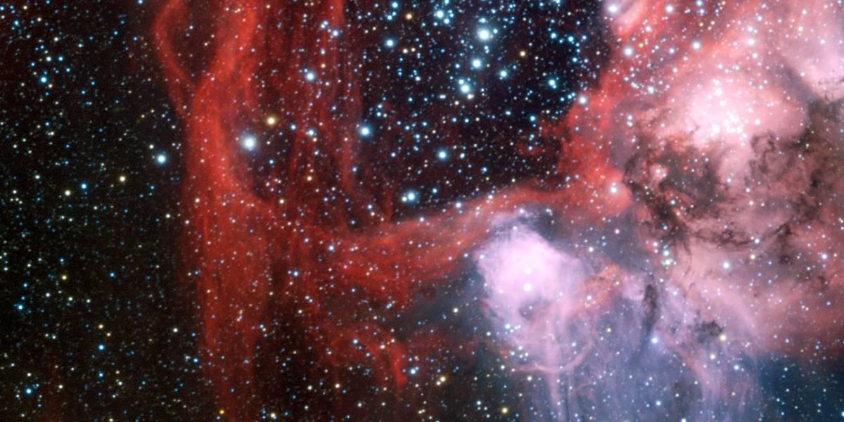 """Fotografían una """"superburbuja cósmica"""" desde Chile"""