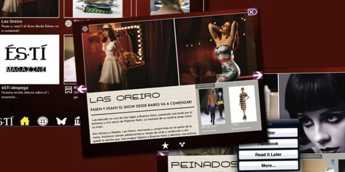 éSTí: La revista para tablets gallega que quiere seducir al mundo de la moda