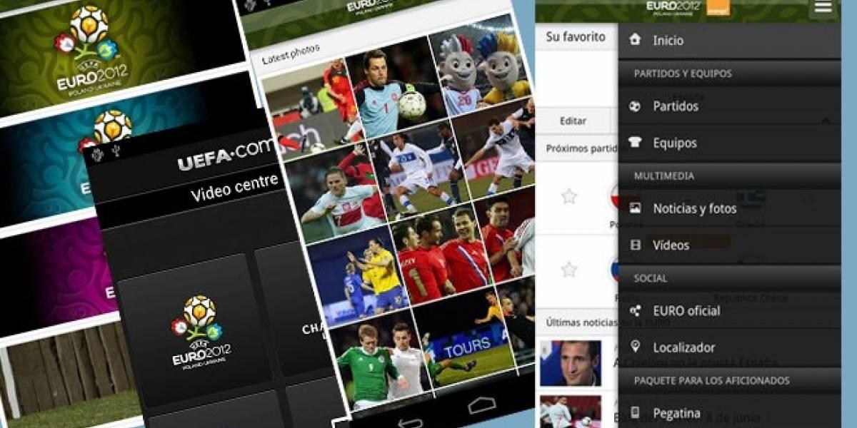 Esta es la aplicación oficial de la Eurocopa 2012