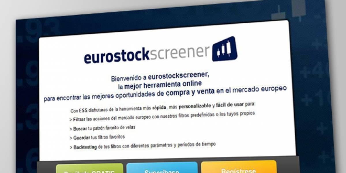 España: Eurostockscreener, la aplicación web para invertir en bolsa