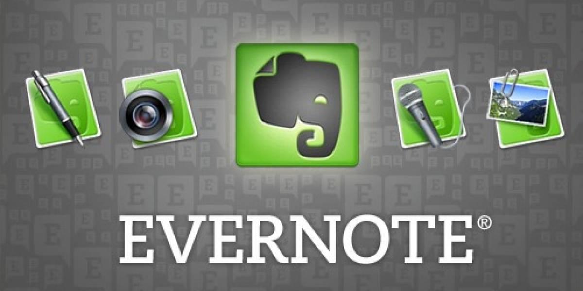 Evernote se hace mejor para compartir