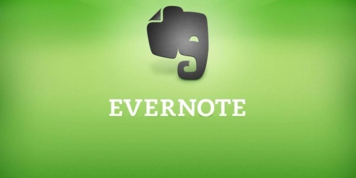 Evernote se actualiza para iOS con nuevas mejoras