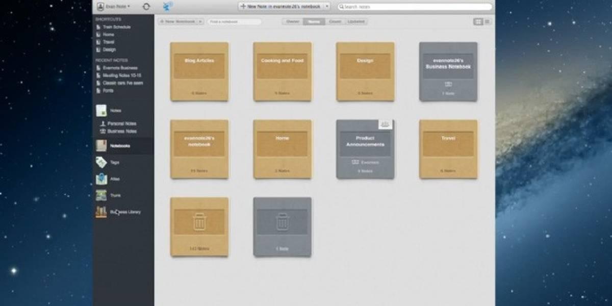 Evernote lanza versión para empresas que permite colaborar
