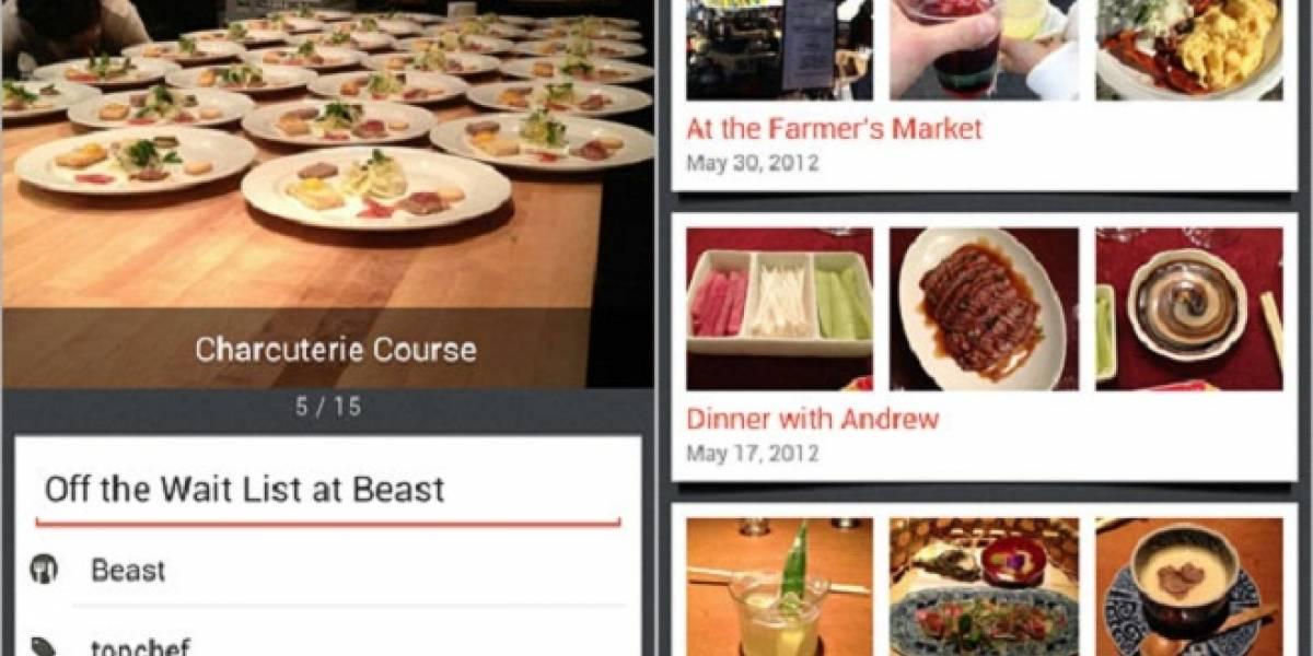 Evernote Food: una app para registrar tus aventuras gastronómicas