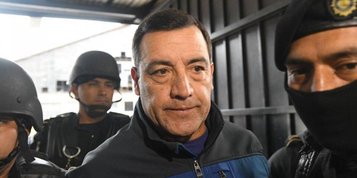 Cae ex ministro de Defensa de Guatemala