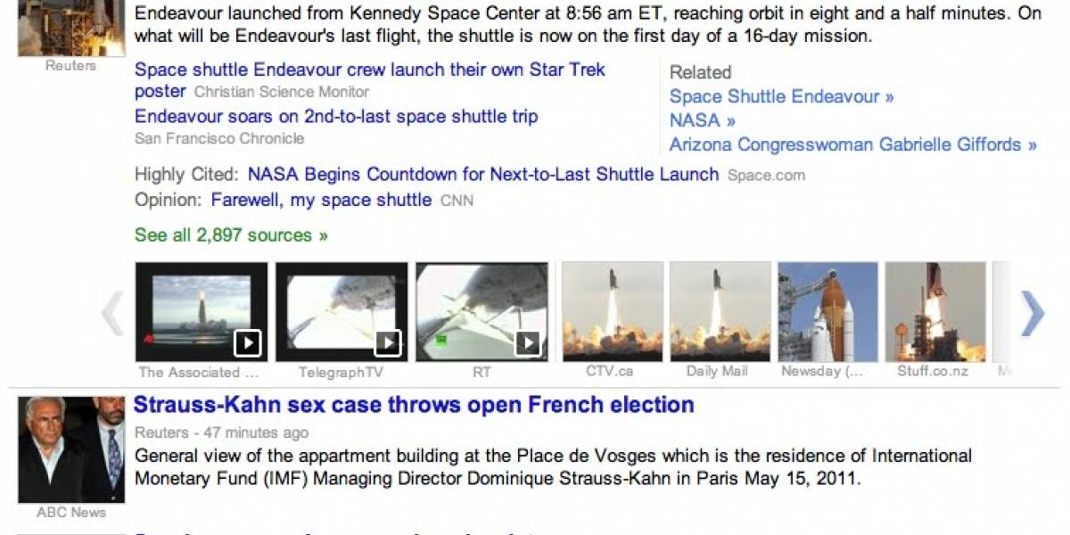 Google News lanzó un rediseño que agrega multimedia