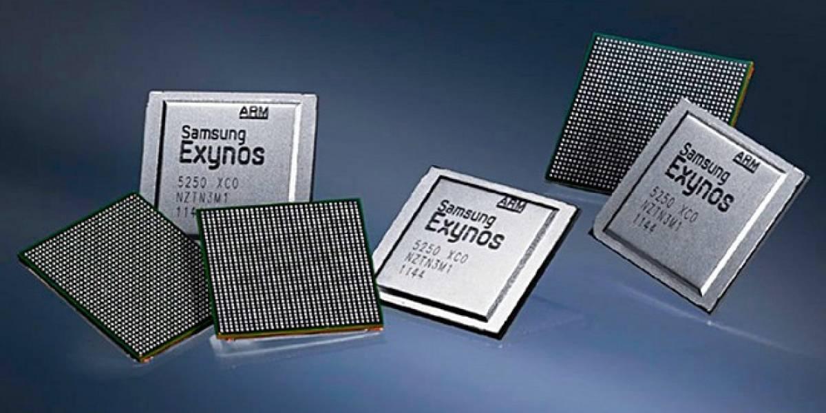 Samsung anuncia procesador Exynos 5250 de 2 GHz dual-core para tablets