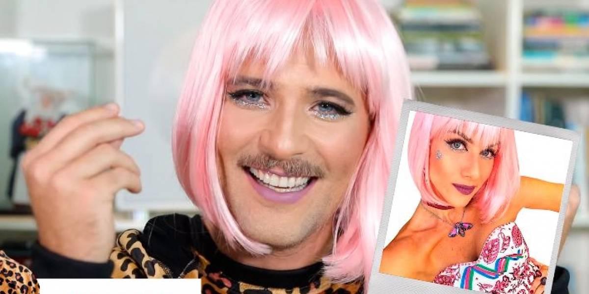 Bruno Gagliasso se transforma em mulher durante vídeo