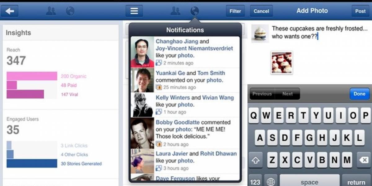 Facebook lanza nueva aplicación para administrar Páginas desde iPhone